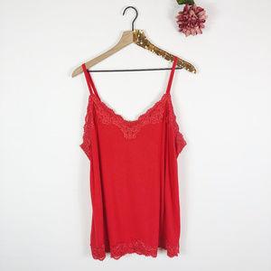 [LANE BRYANT] The Lace Cami Tank Top